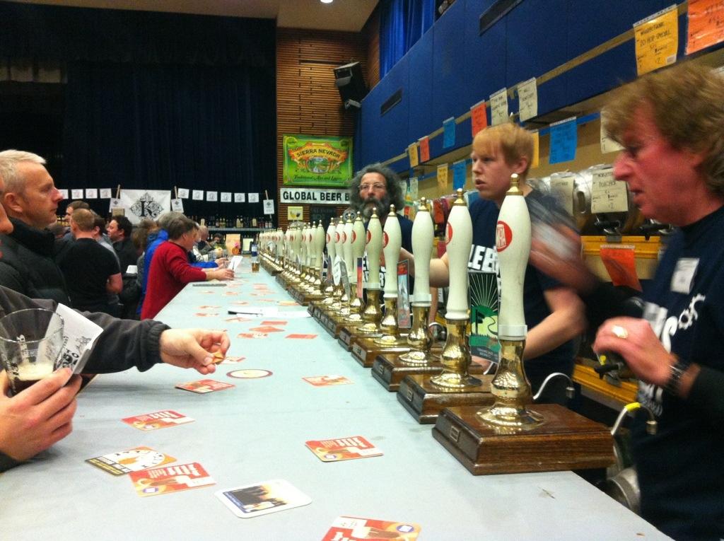 Pudsey beer festival