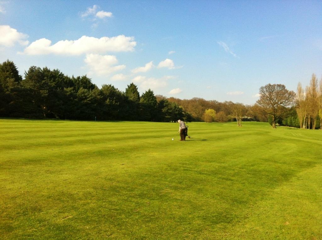 Thursday afternoon golf