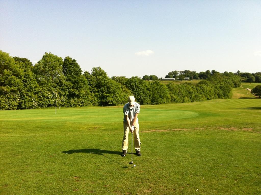 More golf please!