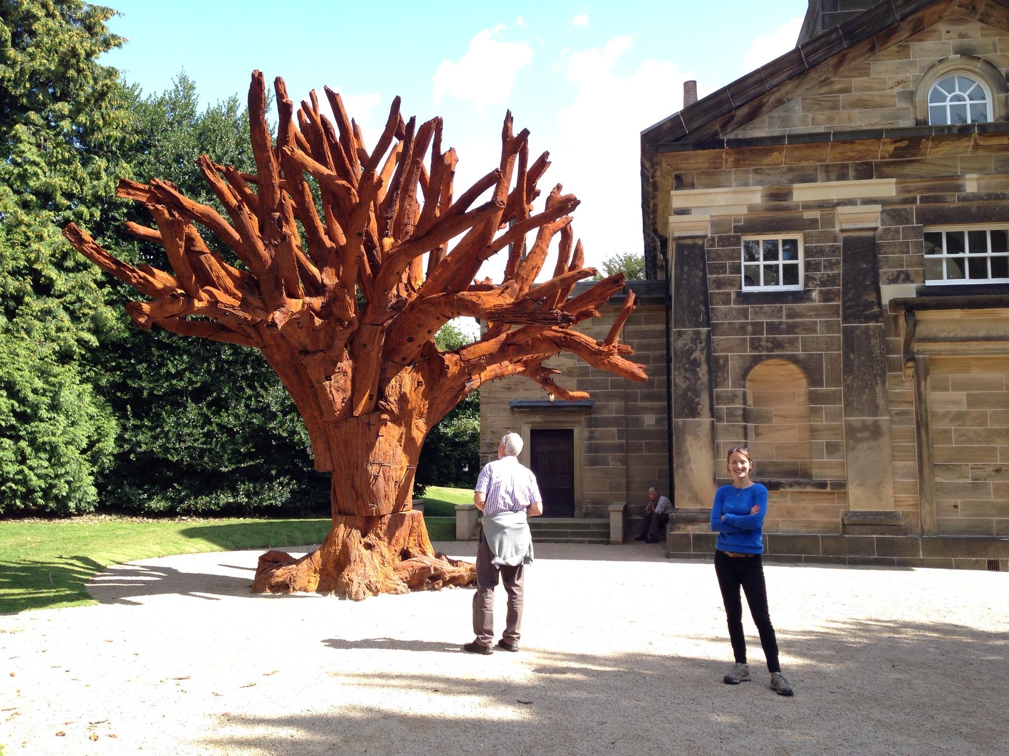 Ai Wei Wei's Iron Tree